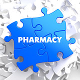 Pharmacy on Blue Puzzle.