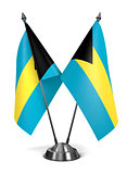 Bahamas - Miniature Flags.