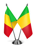Mali - Miniature Flags.