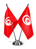 Tunisia - Miniature Flags.