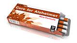 Cure for Alzheimer - Blister Pack of Pills.