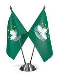 Macau - Miniature Flags.