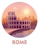 Travel destination Rome