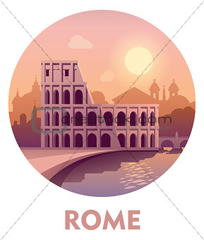 Travel destination Rome