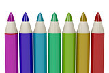 Colorful eye pencils