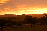 Sunset panorama at Glouster National Park