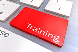 message on keyboard enter key, for training concepts