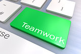Teamwork keyboard button