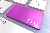 FAQ keyboard button