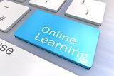 Online Learning keyboard button