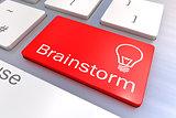 Brainstorm keyboard button