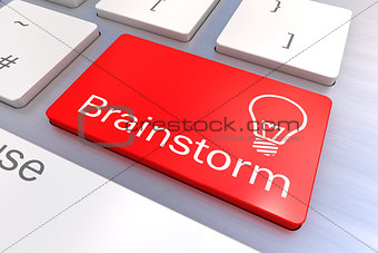 Brainstorm keyboard button