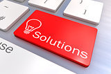 Solutions keyboard button