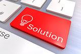 Solution keyboard button