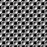 Design seamless monochrome flower pattern