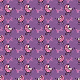 seamless pattern with baby carriage