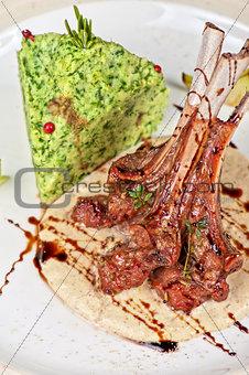ribs calf