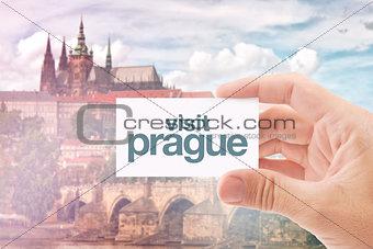 Tourist Agent With Visit Prague Card