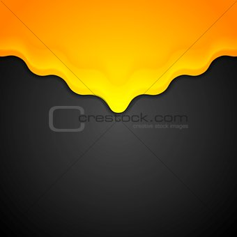 Bright abstract corporate wavy background