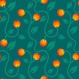 pattern with berry