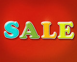 Colorful Sale Sign