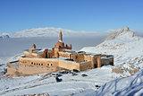 Ishak Pasha Palace - morning view