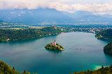 Lake Blade, slovenia