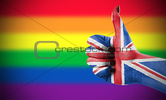 Positive attitude of Great Britain for LGBT community