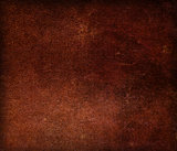 Dark brown old leather canvas texture for background