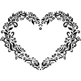 The Embroidery Inspired Heart Shape