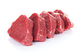 Fillet steak beef meat