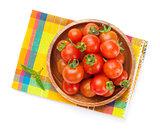 Fresh farmers cherry tomatoes