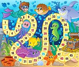 Board game image with underwater theme 2