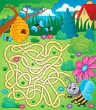 Maze 4 with bee theme