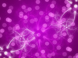 Abstract violet glowing background