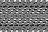 Seamless op art texture. Latticed pattern.