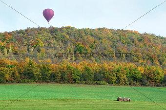 Autumn balloon flights