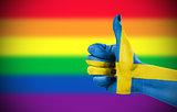 Positive attitude of Sweden for LGBT community