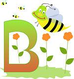 Animal Alphabet - Letter B