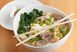 Pho Style Soup with Beef