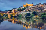 Toledo, Spain on the Tagus River
