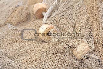 an old fishing net