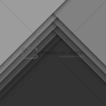 Abstract background with gray layers.