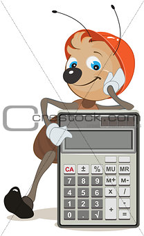Ant superintendent shows on calculator