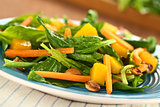Spinach Mango Carrot Salad