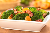 Broccoli Mandarin Bacon Salad