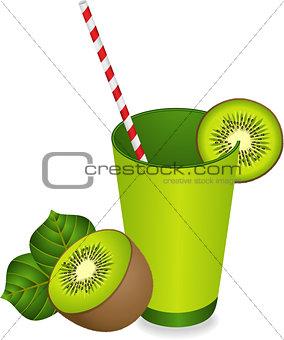 Kiwi Juice Summer Refreshment