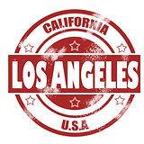 Los Angeles Stamp
