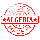 Made in Algeria red seal