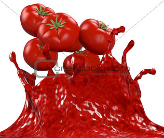 tomatoes and sauce